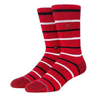 Stance Cobwebs Socks - Red