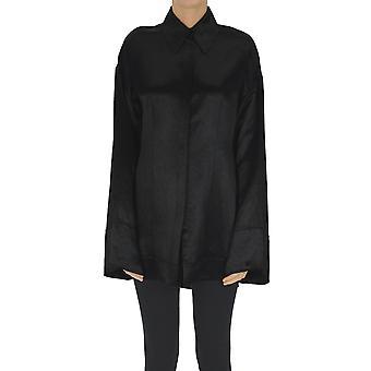 Acne Studios Ezgl151089 Women's Black Acetate Shirt