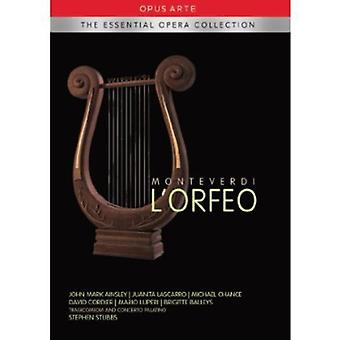 Monteverdi - Monteverdi L'Orfeo [DVD] USA import