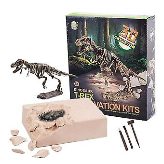Allcele dinosaur fossil archaeological excavation toys,learning toys for kids,best gift for boys