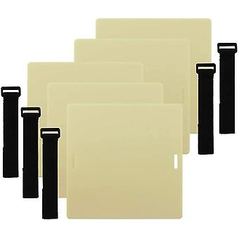 Tattoo Skin Practice - SOTICA 5PCS 20 * 20 * 0.3cm Thick Silicone Tattoo Practice Skin Sheet With St
