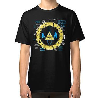 Gravity Falls - Bill Cipher Zodiac T Shirt