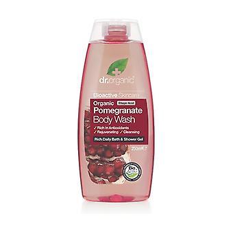 Organic Pomegranate Bath Gel 250 ml of gel
