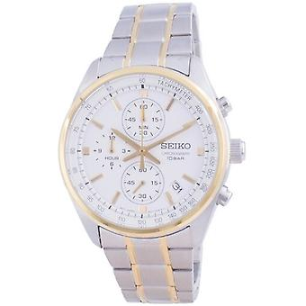 Seiko Chronograph Quartz Ssb380 Ssb380p1 Ssb380p 100m Men's Watch