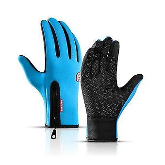 防水冬の暖かい手袋