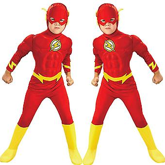 Kinder's Flash Cosplay Kostüm, Kinder's Cosplay Strumpfhosen