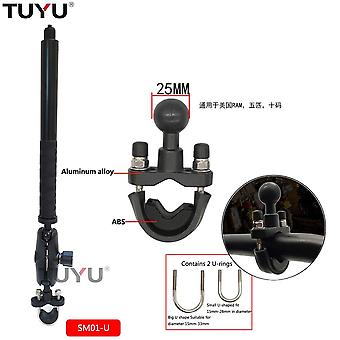Motorcycle Bike Camera Holder Handlebar Mirror Mount Bracket Stand For Insta360