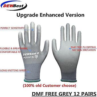 Working Protective Gloves Men& Women, Flexible, Polyester, Nylon Safety Work