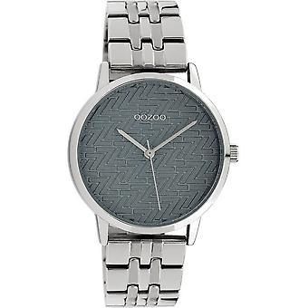 Oozoo - Ladies Watch - C10555 - Silver Grey