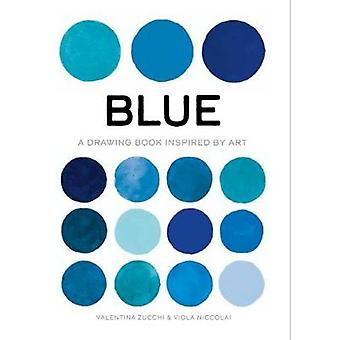 Blue A Drawing Book Inspired by Art