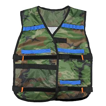 Child New Tactics Tactical Adjustable Vest Kit For Nerf N-strike