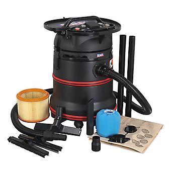 Sealey Pc35230V Vacuum Cleaner Industrial Wet & Dry 35Ltr 1200W/230V