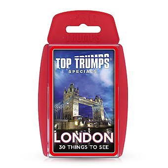 London 30 Things To See Top Trumps Card Game