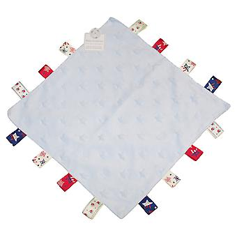 Snuggle Baby Unisex Star Embossed Boats Comforter