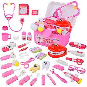 FengChun Arztkoffer Kinder, 38 Stcke Doktorkoffer Kinder mit Lichtern und Geruschen, Medical Kit
