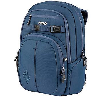 Nitro Snowboards Chase, Unisex Backpack, Indigo, One Size