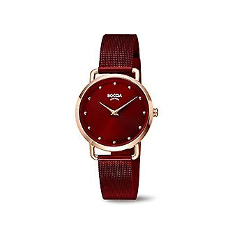 Boccia Analogueico Quartz Watch Woman with Stainless Steel Strap 404TT3314-08