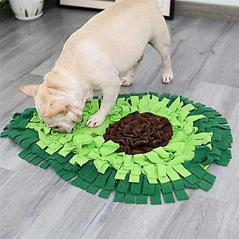 Σκύλος μυρίζοντας χαλί σκύλος παζλ παιχνίδι pet σνακ διατροφή mat βαρετό κουβέρτα κατάρτισης snuffle| Παιχνίδια σκυλιών