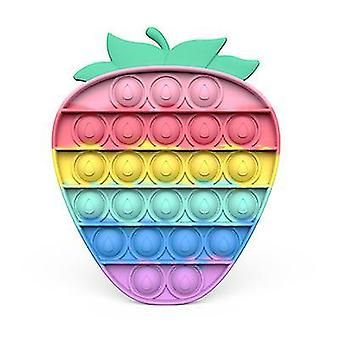 Color strawberry pioneer pop push fidget x7846