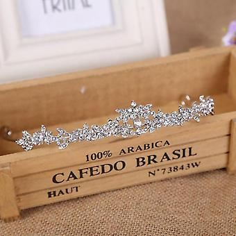 Strass Perle Couronne nuptiale Coiffe