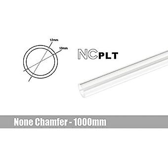 Bitspower None Chamfer PETG Link Tube OD 12mm - 1m