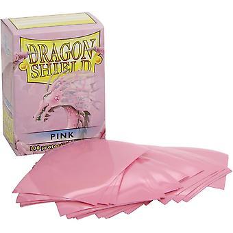 Dragon Shield Standardowe różowe rękawy - 100 rękawów