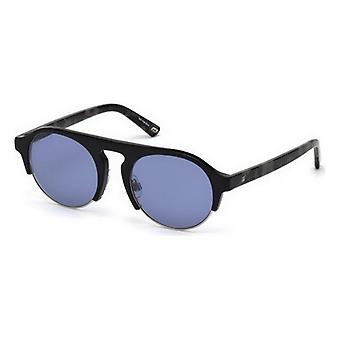 """משקפי שמש לגברים משקפי שמש אינטרנט WE0224-05V כחול שחור (ø 52 מ""""מ)"""