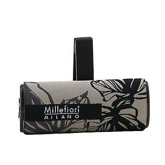Millefiori Icon Textile Floral Car Air Freshener - Vanilla & Wood 1pc