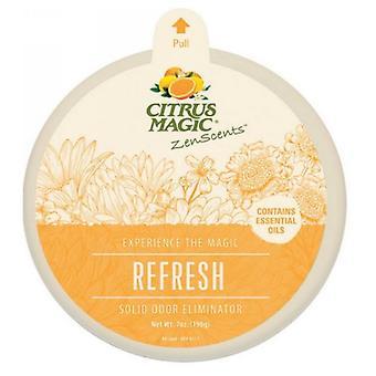 Citrus Magic ZenScents Solid Air Freshner, Refresh 7 Oz