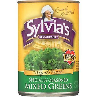 Sylvias Greens Mixed, Case of 12 X 14.5 Oz