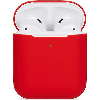 Airpods Case Soft Silicone Antichoc Antidérapant Pour Apple Airpods 2&1