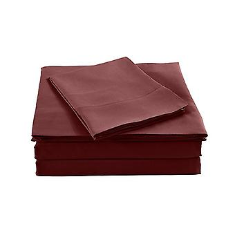 Bamboo Blended Sheet And Pillowcases Set Ultra Soft Bedding King
