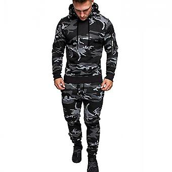 Men's Pullover Hooded Sports Suit