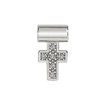 Nomination italy seimia pendant charm - cross  147116_004
