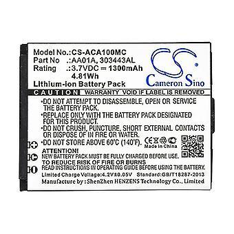 Cameron Sino Aca100Mc Battery Replacement For Activeon Camera