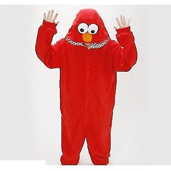 Erwachsene Sesamstraße Cookie Elmo Kostüm (L)
