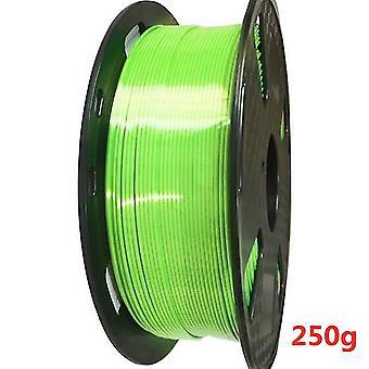 1,75 Mm 3d printer filament pla silke tekstur 0,25 kg 250g skinne silkeagtig 3d pen udskrivning filamenter rige