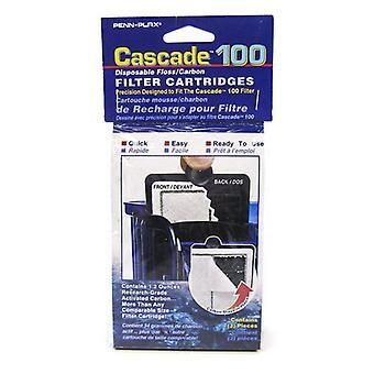 تتالي 100 الخيط المتاح وخراطيش فلتر الطاقة الكربونية - 3 حزمة