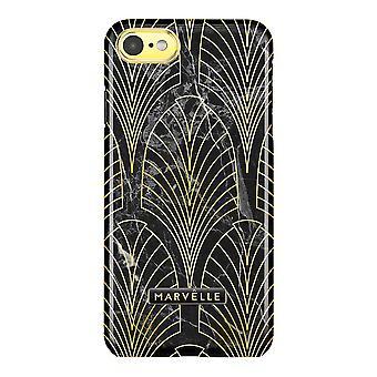 iPhone 6/6s/7/8 Marvêlle Magnetisk Skall Golden Gatsby