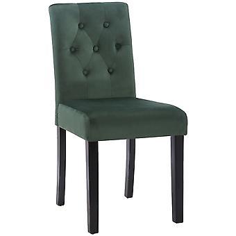 Esszimmerstuhl - Esszimmerstühle - Küchenstuhl - Esszimmerstuhl - Modern - Grün - Holz - 43 cm x 54 cm x 89 cm