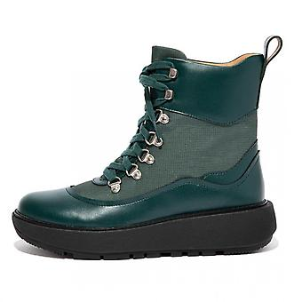 FitFlop Skandi Water Resistant Ankle Boots In Racing Green