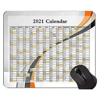 Keyboard mouse wrist rests 260x210x3 2021 galaxy calendar mouse pad personalized curved line themed rubber mouse pad