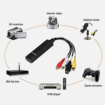 Usb Vhs / vcr To Video Converter Dvd Converter Capture Kit péritel complet