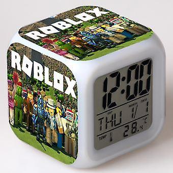 Roblox Colorful Multifunctional Led Alarm Clock