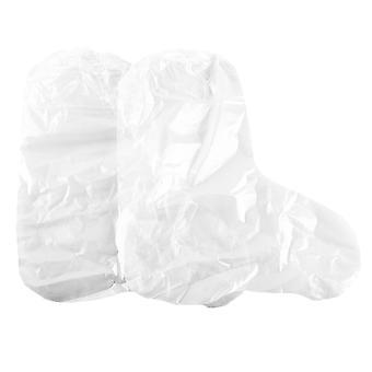 10pcs Kunststoff Schuhe Abdeckung staubdicht verschleißfesten Schuh Schutz elastische Band wasserdichte Schuhe Abdeckung