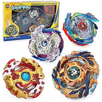 Bey Blade Burst Battle Spinning Top Set With  Launcher  (yellow)