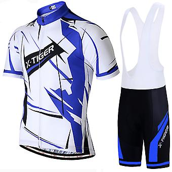 X-tiger Heren Driedelige Cycling Skinsuit