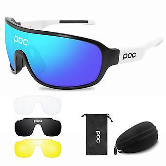 Unisex Polarized Pitcher Cycling Glasses