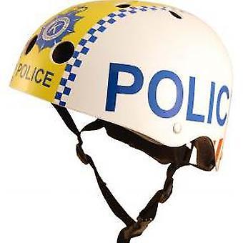 Kiddimoto Helmet - Police Policeman