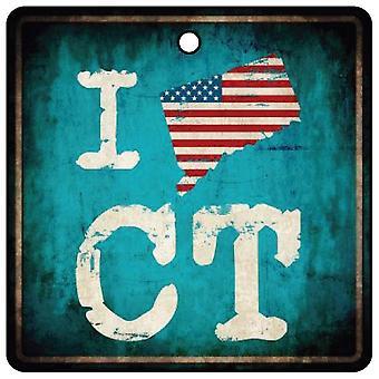Me encanta Connecticut constitución estatal ambientador de aire